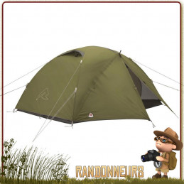 Tente bivouac LODGE 3 places ROBENS camping bushcraft expedition 3 saisons spacieuse