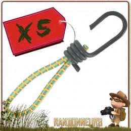 mini tendeur avec crochet sandow cao pour montage tarp bâche bivouac léger en randonnée bushcraft survie nature