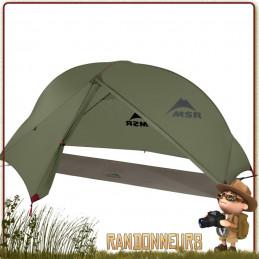 TENTE MSR HUBBA NX - Tente de randonnée légère bikepacking pour 1 une personne trois 3 saisons pas cher