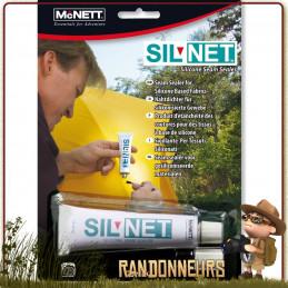 Colle siliconée de réparation McNETT pour vêtements, toile de tente et coutures étanche hamac bushcraft