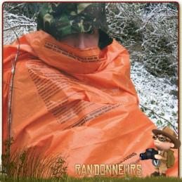 sursac de survie militaire highlander, un bivy bag étanche pas cher pour bivouac bushcraft survie nature en forêt