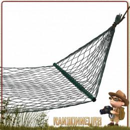 Hamac randonnée léger et idéal pour un bivouac nomade barres transversales télescopiques pour couchage à plat