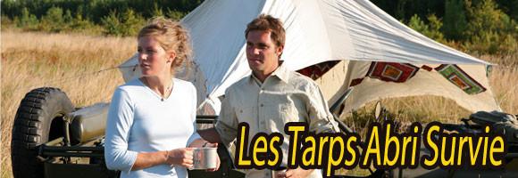 Les meilleurs Tarps Abri Survie pour un campement léger