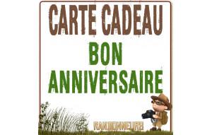 Carte Cadeau BON ANNIVERSAIRE